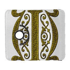 Gold Scroll Design Ornate Ornament Galaxy S3 (flip/folio)