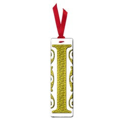 Gold Scroll Design Ornate Ornament Small Book Marks