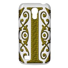Gold Scroll Design Ornate Ornament Galaxy S4 Mini