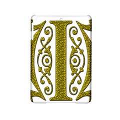 Gold Scroll Design Ornate Ornament Ipad Mini 2 Hardshell Cases