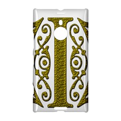 Gold Scroll Design Ornate Ornament Nokia Lumia 1520
