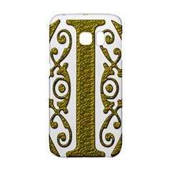 Gold Scroll Design Ornate Ornament Galaxy S6 Edge