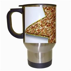 Star Glitter Travel Mugs (white)