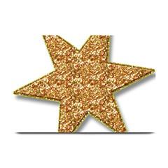 Star Glitter Plate Mats