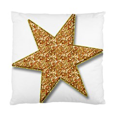 Star Glitter Standard Cushion Case (Two Sides)