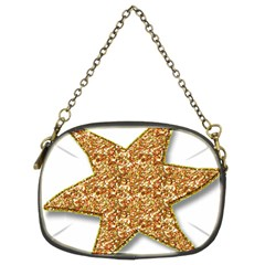 Star Glitter Chain Purses (two Sides)