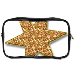 Star Glitter Toiletries Bags 2-Side