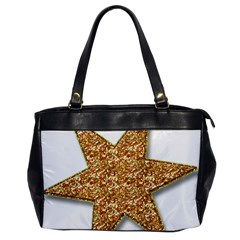 Star Glitter Office Handbags