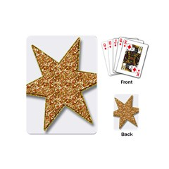 Star Glitter Playing Cards (Mini)
