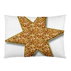 Star Glitter Pillow Case (two Sides)