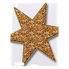 Star Glitter Apple Ipad 3/4 Hardshell Case