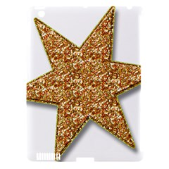 Star Glitter Apple Ipad 3/4 Hardshell Case (compatible With Smart Cover)
