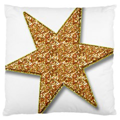 Star Glitter Large Cushion Case (Two Sides)