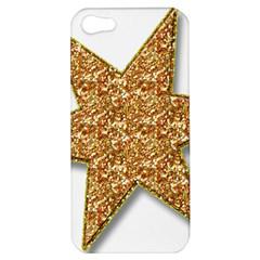 Star Glitter Apple iPhone 5 Hardshell Case