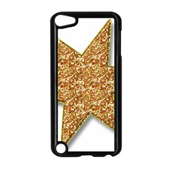 Star Glitter Apple iPod Touch 5 Case (Black)
