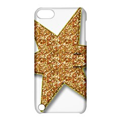 Star Glitter Apple Ipod Touch 5 Hardshell Case With Stand