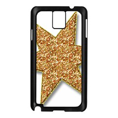 Star Glitter Samsung Galaxy Note 3 N9005 Case (black)