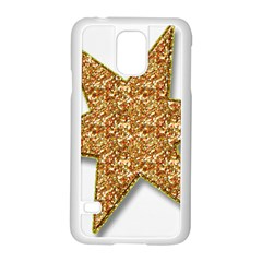 Star Glitter Samsung Galaxy S5 Case (white)