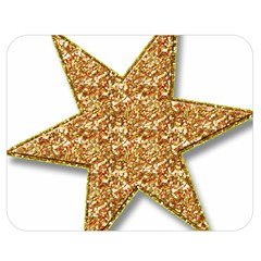 Star Glitter Double Sided Flano Blanket (medium)