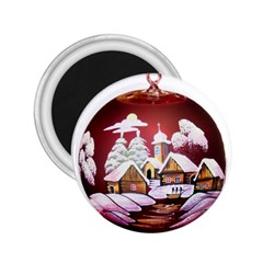 Christmas Decor Christmas Ornaments 2.25  Magnets