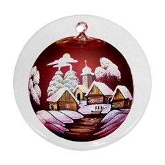 Christmas Decor Christmas Ornaments Ornament (round)