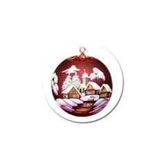 Christmas Decor Christmas Ornaments Golf Ball Marker