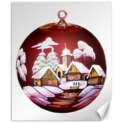 Christmas Decor Christmas Ornaments Canvas 8  X 10