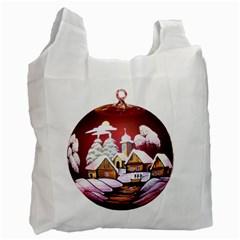 Christmas Decor Christmas Ornaments Recycle Bag (One Side)