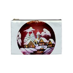 Christmas Decor Christmas Ornaments Cosmetic Bag (medium)