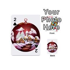 Christmas Decor Christmas Ornaments Playing Cards 54 (mini)