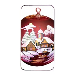 Christmas Decor Christmas Ornaments Apple iPhone 4/4s Seamless Case (Black)