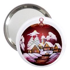 Christmas Decor Christmas Ornaments 3  Handbag Mirrors