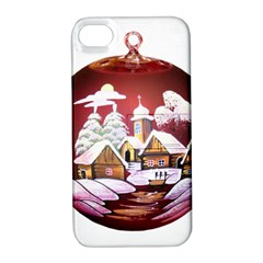 Christmas Decor Christmas Ornaments Apple iPhone 4/4S Hardshell Case with Stand