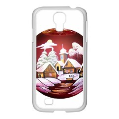 Christmas Decor Christmas Ornaments Samsung GALAXY S4 I9500/ I9505 Case (White)