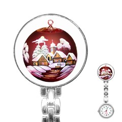 Christmas Decor Christmas Ornaments Stainless Steel Nurses Watch