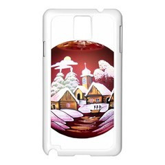Christmas Decor Christmas Ornaments Samsung Galaxy Note 3 N9005 Case (white)