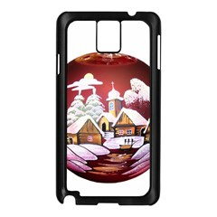 Christmas Decor Christmas Ornaments Samsung Galaxy Note 3 N9005 Case (black)