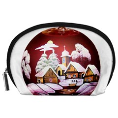Christmas Decor Christmas Ornaments Accessory Pouches (large)