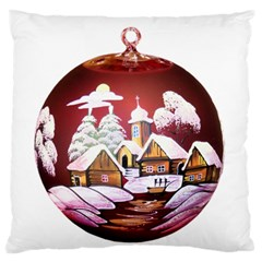 Christmas Decor Christmas Ornaments Standard Flano Cushion Case (Two Sides)