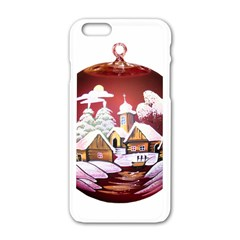 Christmas Decor Christmas Ornaments Apple Iphone 6/6s White Enamel Case