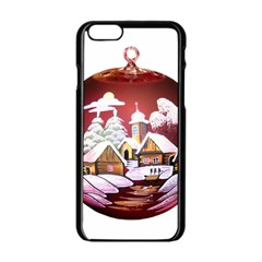 Christmas Decor Christmas Ornaments Apple Iphone 6/6s Black Enamel Case