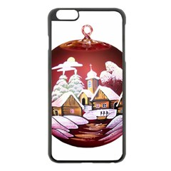 Christmas Decor Christmas Ornaments Apple Iphone 6 Plus/6s Plus Black Enamel Case