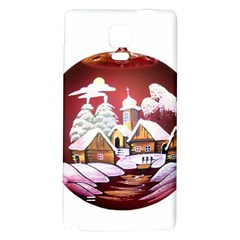 Christmas Decor Christmas Ornaments Galaxy Note 4 Back Case