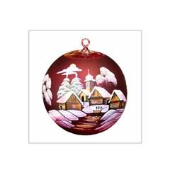 Christmas Decor Christmas Ornaments Satin Bandana Scarf