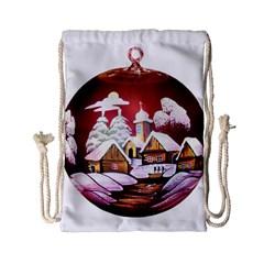 Christmas Decor Christmas Ornaments Drawstring Bag (small)