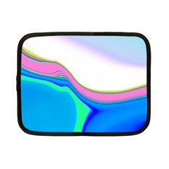 Aurora Color Rainbow Space Blue Sky Purple Yellow Green Netbook Case (small)