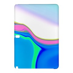 Aurora Color Rainbow Space Blue Sky Purple Yellow Green Samsung Galaxy Tab Pro 10 1 Hardshell Case
