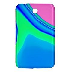 Aurora Color Rainbow Space Blue Sky Samsung Galaxy Tab 3 (7 ) P3200 Hardshell Case