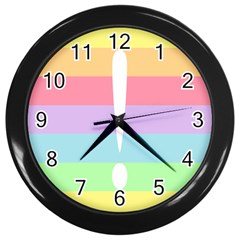 Condigender Flags Wall Clocks (black)