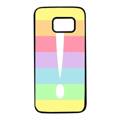 Condigender Flags Samsung Galaxy S7 Black Seamless Case